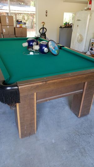 New And Used Pools For Sale In Milwaukie OR OfferUp - Brunswick sherwood pool table