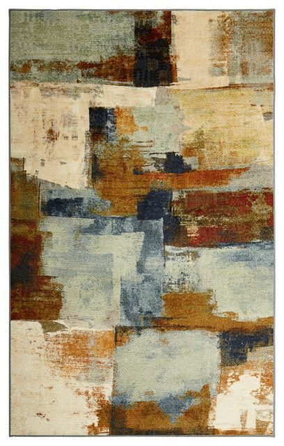 Cool Abstraction Rug 8x10 In Its Original Package For