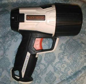 Photo Black+Decker Wpak5B 500 Lumen Waterproof 5W Led Spotlight Flashlight, Alkaline Battery Powered