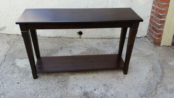 Like New Ikea Markör Sofa Table