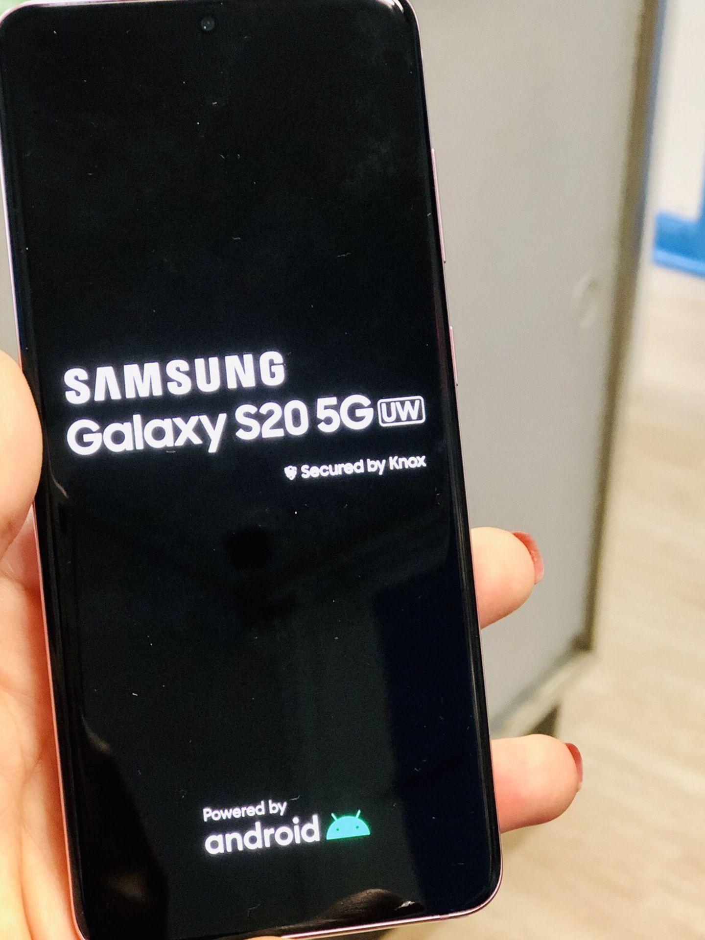 Samsung Galaxy s20 5g, 128 gb unlocked, Excellent condition
