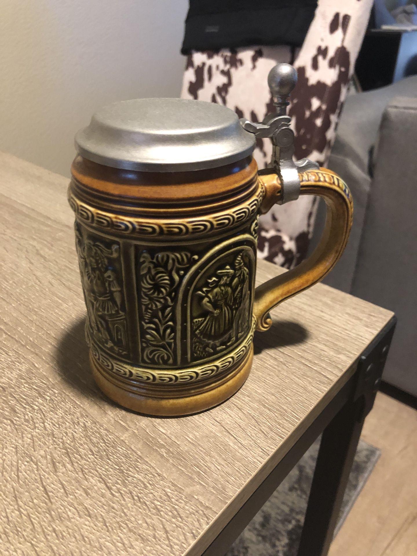 ANTIQUE West Germany beer stein