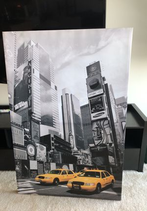 Canvas New York City picture 3ft x 2ft for Sale in North Bethesda, MD