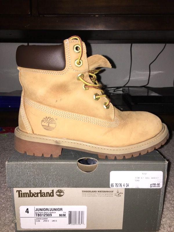 Timberland Boots Kids Size 4