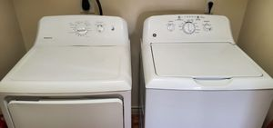 Photo GE washer & Electric dryer