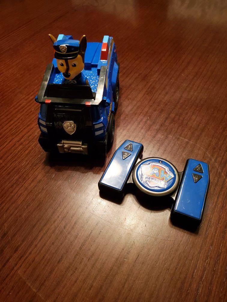 Paw Patrol Chase remote control car
