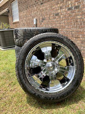 Photo 4 Wheels (Rims&Tires) *Rim Size 20's*