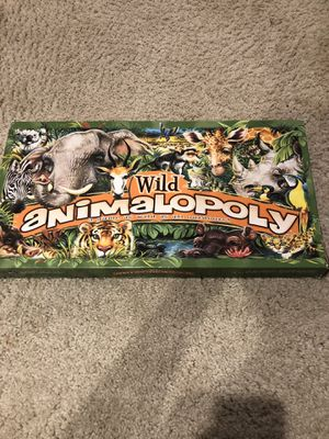 Wild Animalopoly Board Game for Sale in Clarksville, MD