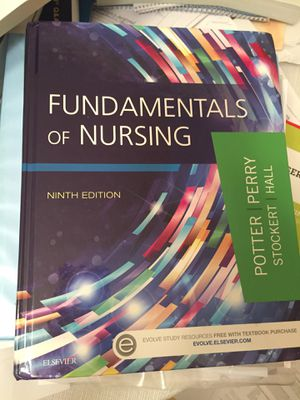 Fundamentals of Nursing Potter Perry Ninth edition 9th for Sale in Pittsburgh, PA
