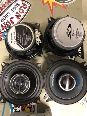 Pioneer & Alpine Speakers for Sale in Orlando, FL