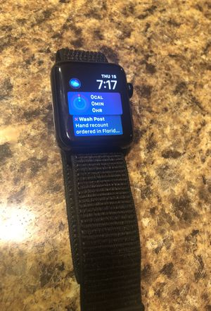 Apple Watch 3 GPS Cellular LTE 42mm for Sale in Kissimmee, FL