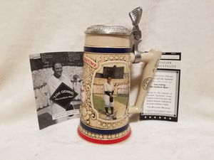 EXCLUSIVE LOU GEHRIG STEIN, RARE, COA, MINT for Sale in Scottsdale, AZ