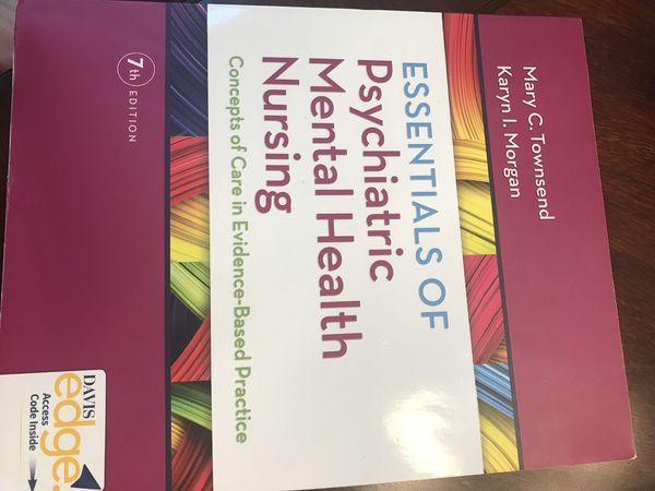 Essentials Of Psychiatric Mental Health Nursing 7th Edition For Sale