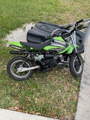 Photo Kawasaki KDX 50 dirt bike /not running