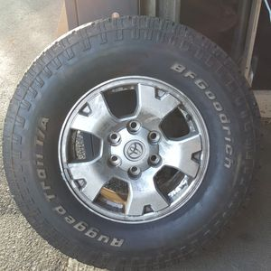 """16"""" Tacoma wheels and tires for Sale in Portland, OR"""