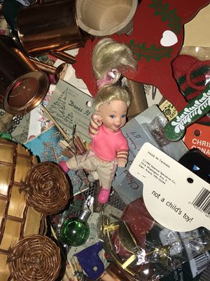**MORE THAN**1000 NEW Dollhouse miniature pieces antique/vintage-COLLECTIBLE Strollers furniture pictures money etc $.25-$2 for Sale in Galt, CA
