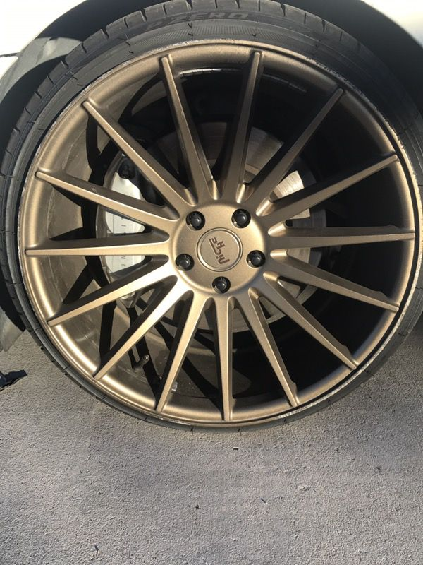 Niche M158 wheels 20x10 245/30/20 front and 20x11 275/30 ...