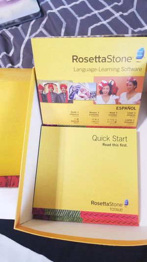 Rosetta Stone Spanish Level 1 for Sale in Staunton, VA