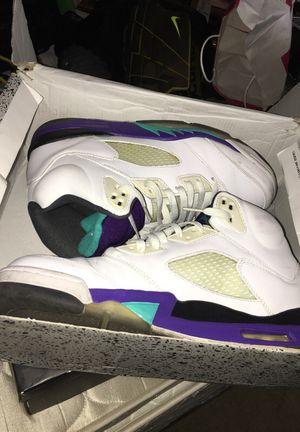 Jordan 5 Grape / Jordan True Blue 1's for Sale in Phoenix, AZ