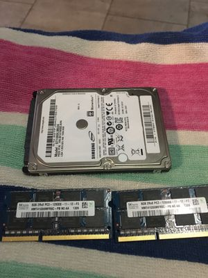 16 GB memory ram and 1TB hardrive for MacBook Pro or windows for Sale in Boston, MA