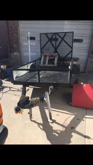 5x8 heavy duty utility trailer for Sale in South Salt Lake, UT