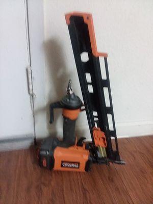 Ridgid Framing nail gun for Sale in Houston, TX