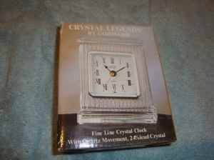 New Lead Crystal Mantel Clock for Sale in Irwin, PA