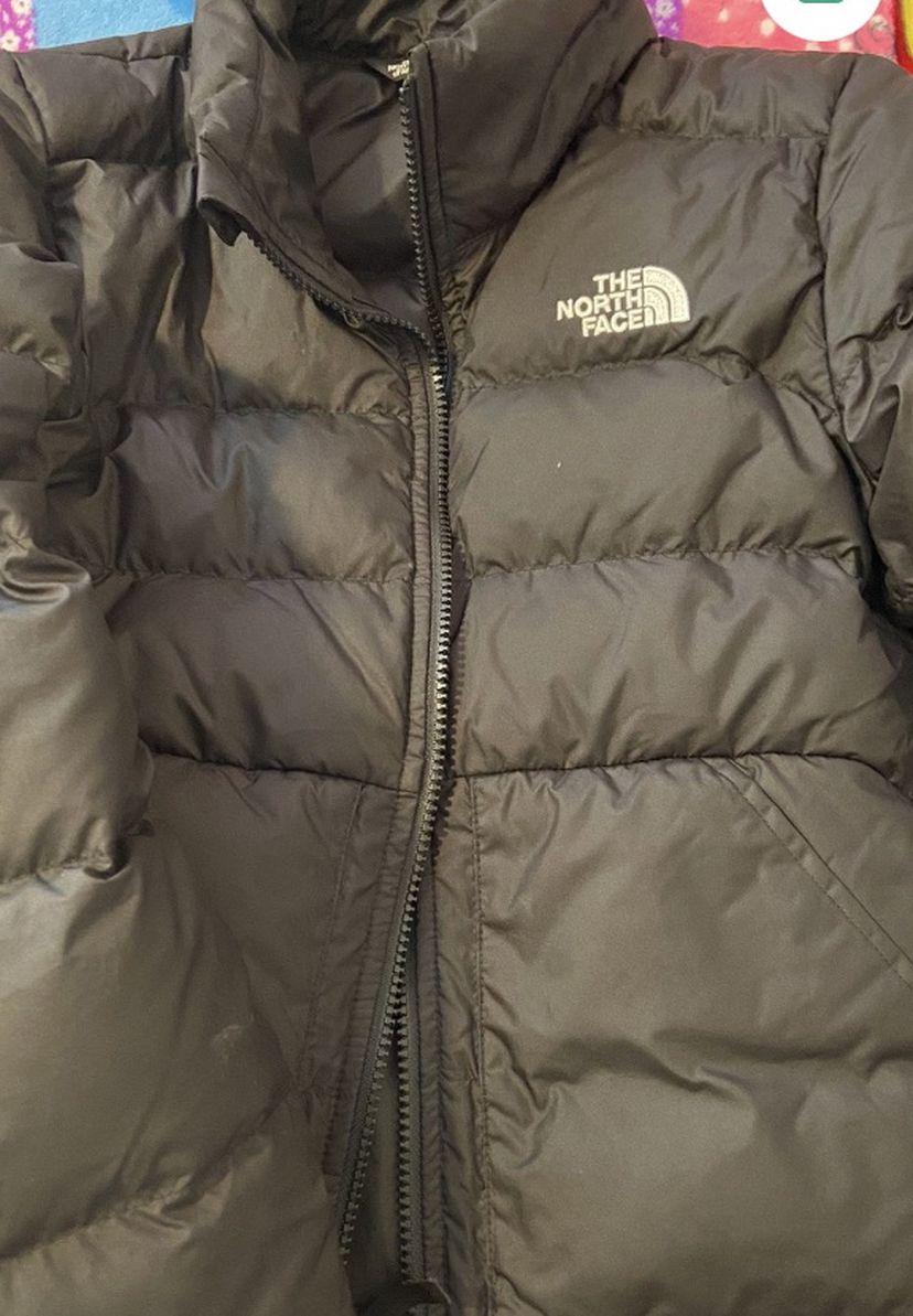 Black Kid Northface Puffer Jacket M