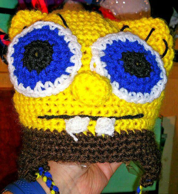 Spongebob Squarepants Crochet Beanie For Sale In Los Angeles Ca