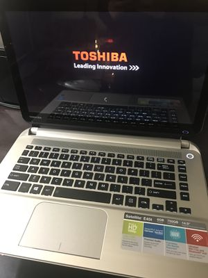 Toshiba Satellite E45T with Bluetooth! for Sale in Los Angeles, CA