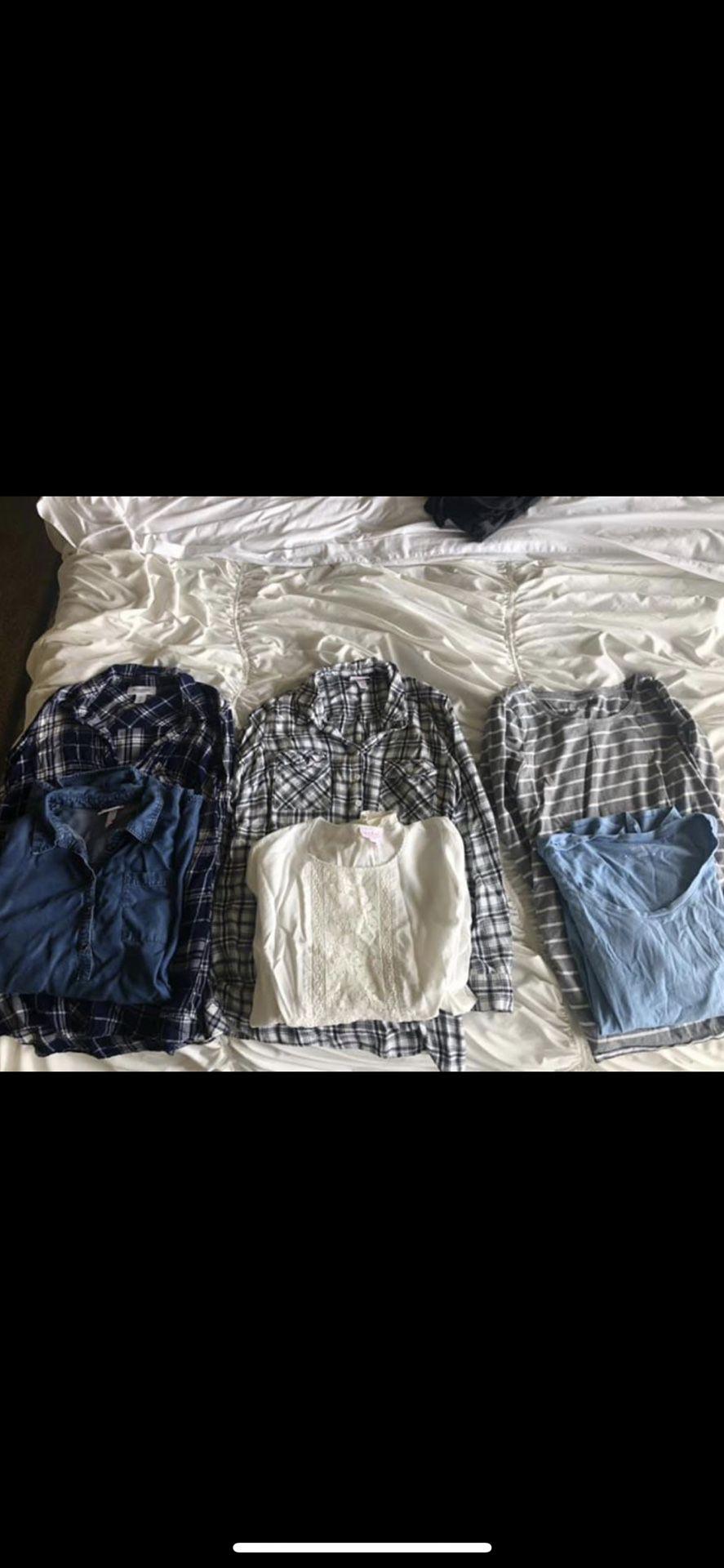 Used Small/Medium maternity clothes
