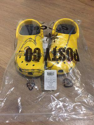 Post Malone x Crocs size 8 ds for Sale in Fairfax, VA