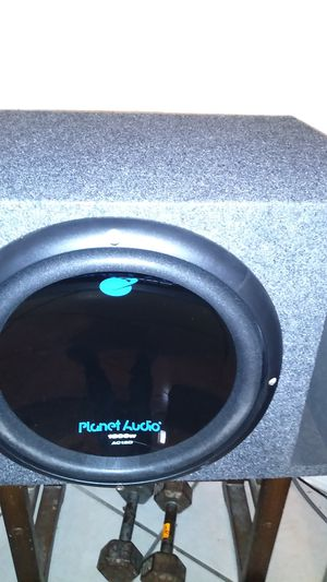 Photo Planet audio 12inch 1800 watts