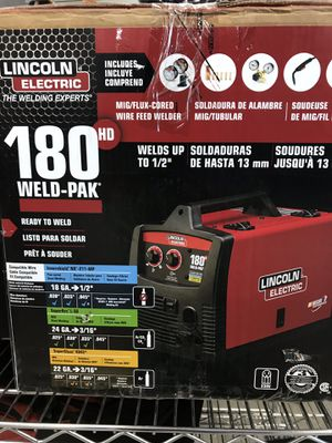 Lincoln electric 180 amp wire feed welder for Sale in Orlando, FL