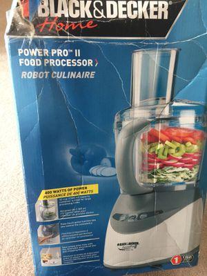 Black&decker food processor power plus ll for Sale in McLean, VA