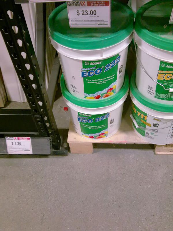 Mapei Ultrabond Eco 222 Cork Underpayment Adhesive for Sale in Woodland  Hills, CA - OfferUp