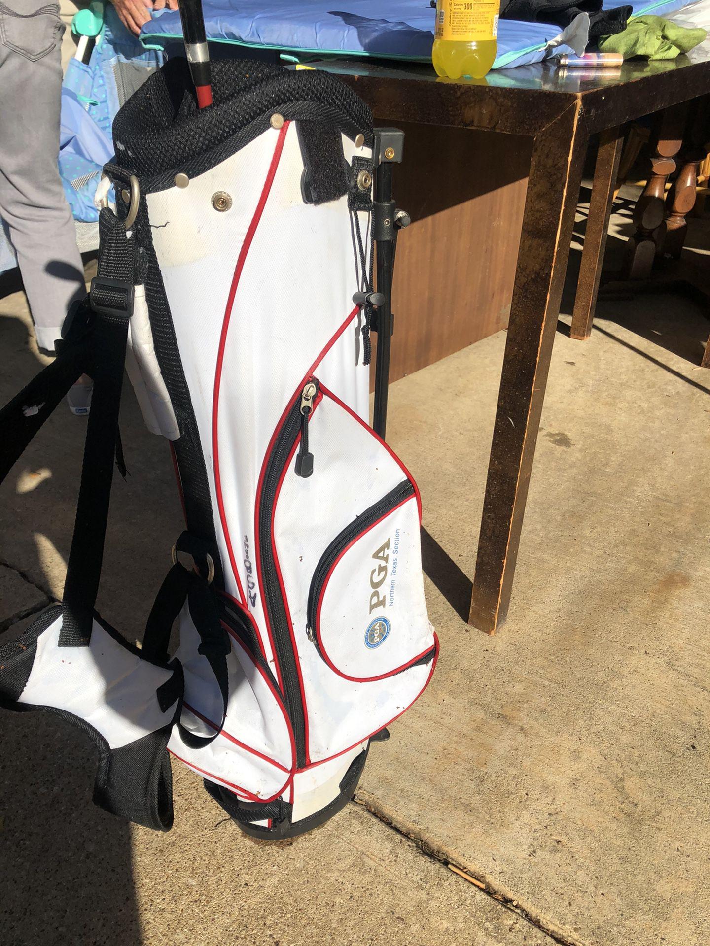 PGA golf bag kids with driver