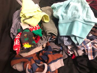 BOY BABY CLOTHES 12-24 MONTHS/ SHIRTS, POLOS, SHORTS, SWEATERS, ETC! Thumbnail