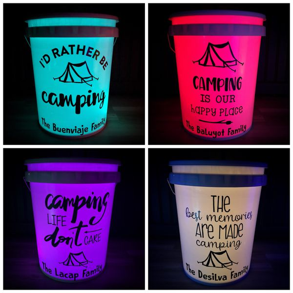 Camping Bucket Light