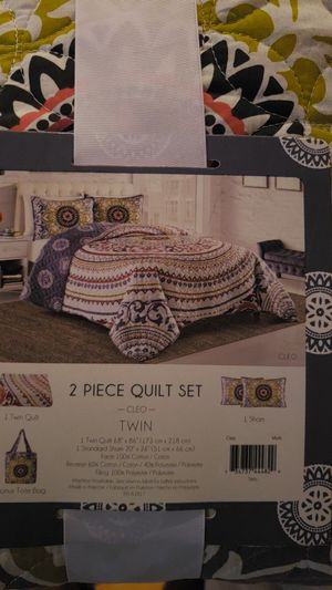 Twin XL Quilt Set for Sale in Waldorf, MD