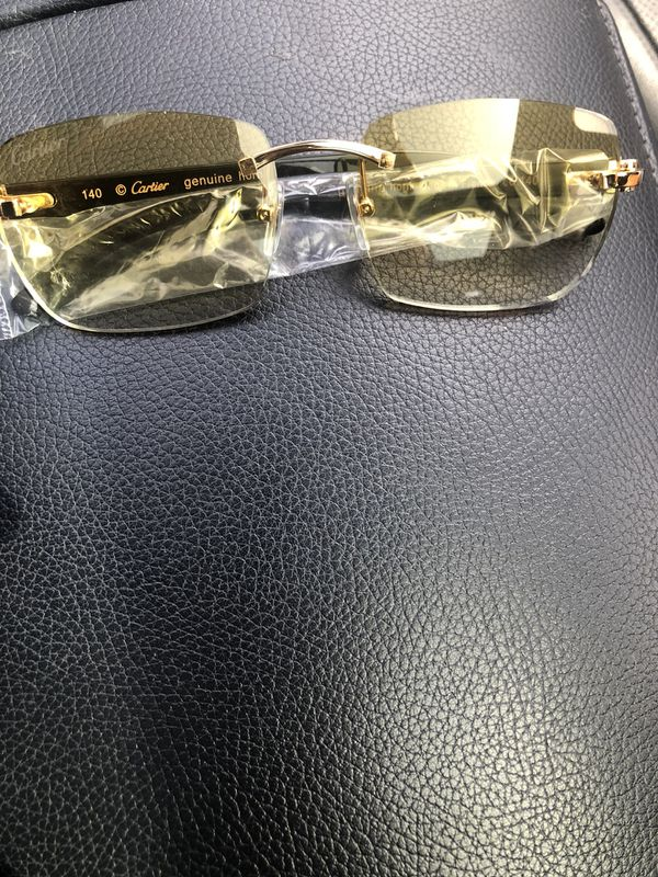 058283038b Cartier Sunglasses Black Gold Buffs for Sale in Bloomfield Hills