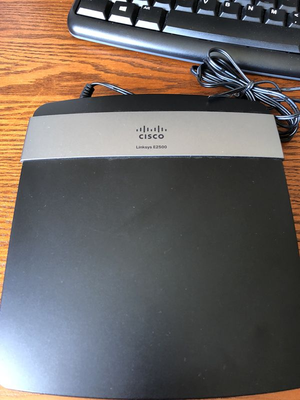 Cisco Linksys E2500 router for Sale in Portland, OR - OfferUp
