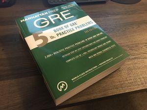 GRE Prep (Manhattan Prep) - New Condition for Sale in Atlanta, GA