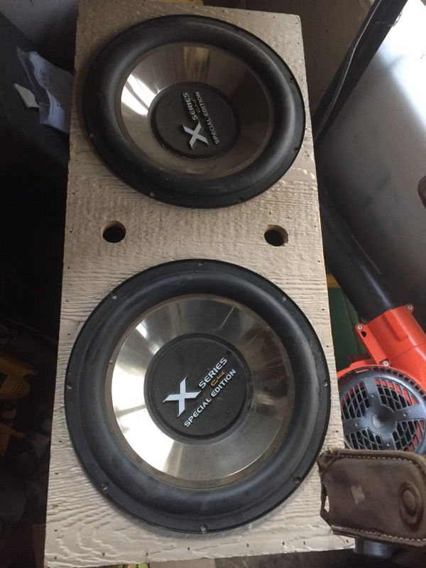 x series c4 special edition subwoofer for Sale in Perris, CA - OfferUp