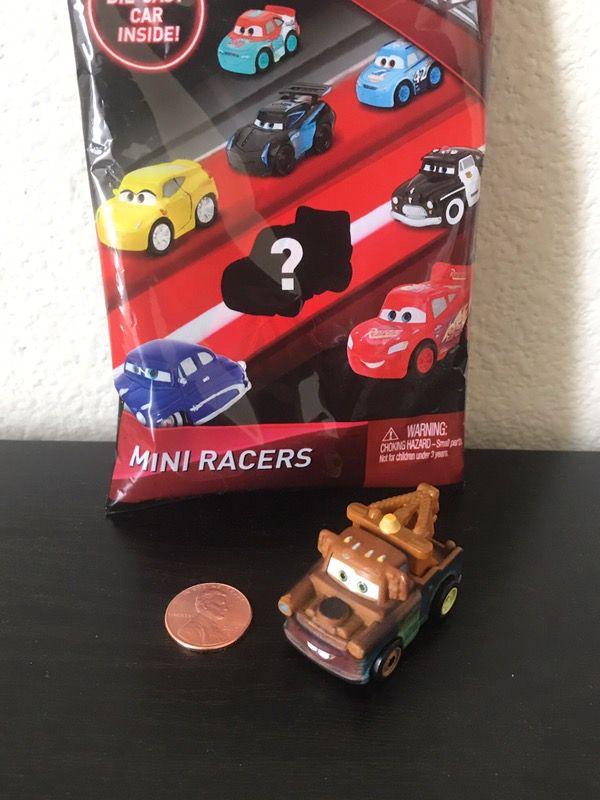 Disney Cars 3 Mini Racers Die Cast Blind Bag Mater For