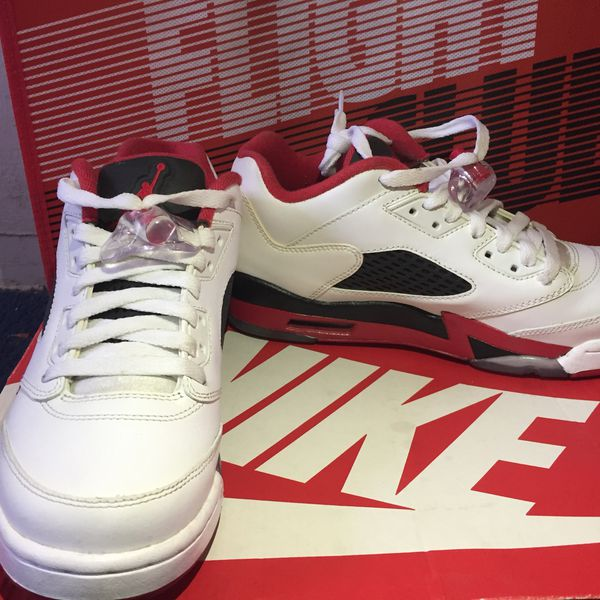 sale retailer 8970b 867bc Air Jordan 5 Low Fire Red for Sale in Los Angeles, CA - OfferUp