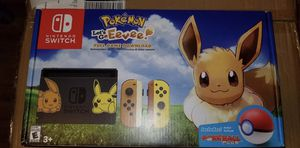 Nintendo Switch pokemon lets go eevee bundle for Sale in Manassas, VA