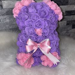 """Rose Bears For Valentines Day 9"""" Thumbnail"""