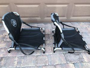 Photo Folding Reclining Beach Chairs Seats