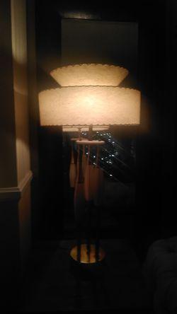 Century Modern Lamp, Fiber Glass Shade Thumbnail